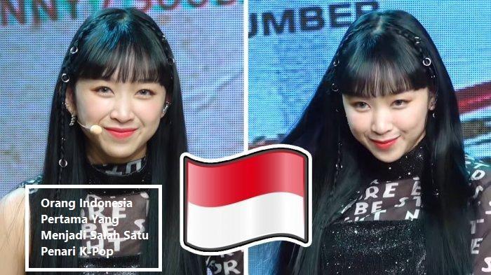 Orang Indonesia Pertama Yang Menjadi Salah Satu Penari K-Pop